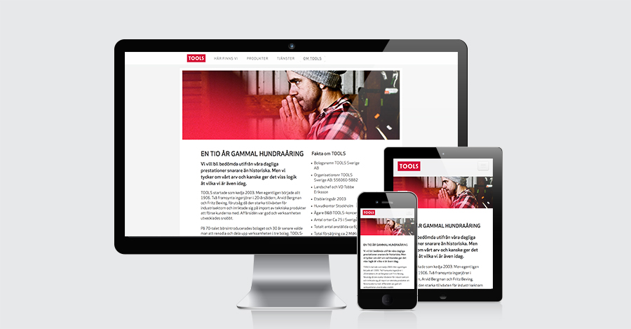 responsive website design in joomla